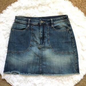 Arizona Jean Company Junior's Mini Denim Skirt